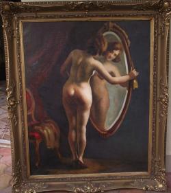 Picturi cu potrete/nuduri ALO AKT TUKORBEN