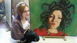 Picturi cu potrete/nuduri Medusa complementara