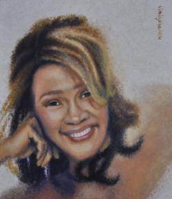 Picturi cu potrete/nuduri Whitney Houston