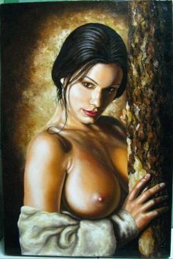 Picturi cu potrete/nuduri Elena