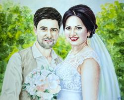 Picturi cu potrete/nuduri Nunta