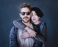 Picturi cu potrete/nuduri Pereche