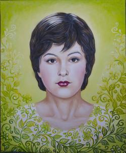 Picturi cu potrete/nuduri Portret ornamentat