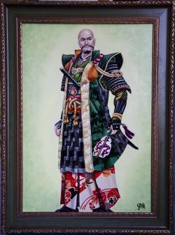 Picturi cu potrete/nuduri Samurai 1