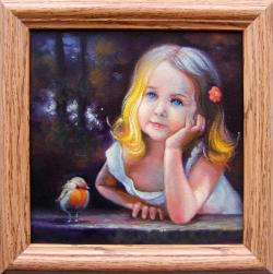 Picturi cu potrete/nuduri copilarie 6