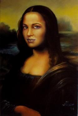 Picturi cu potrete/nuduri angelina jolie