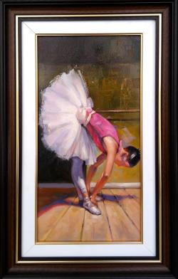 Picturi cu potrete/nuduri balerina..