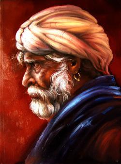 Picturi cu potrete/nuduri tuareg