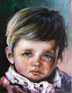 Picturi cu potrete/nuduri din vremea copilariei