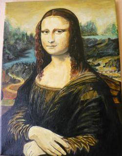 Picturi cu potrete/nuduri Mona Lisa - reproducere