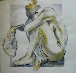 Picturi cu potrete/nuduri the mask