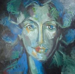 Picturi cu potrete/nuduri Doamna