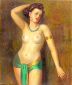 Picturi cu potrete/nuduri gyonyoruseg