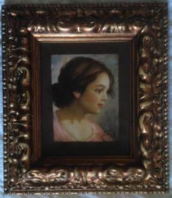 Picturi cu potrete/nuduri portret dama frumoasa