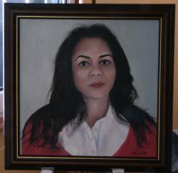 Picturi cu potrete/nuduri Portret 008