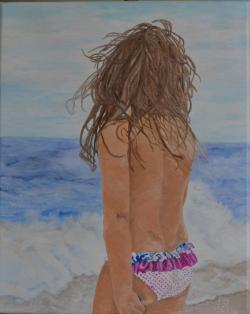Picturi cu potrete/nuduri On the beach