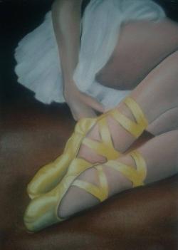 Picturi cu potrete/nuduri O balerină