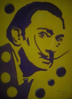Picturi cu potrete/nuduri Salvador Dali