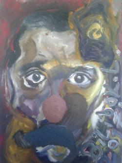 Picturi cu potrete/nuduri O față misterioasă