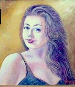 Picturi cu potrete/nuduri Bianca Lorella