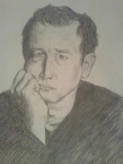 Picturi cu potrete/nuduri Dan Puric