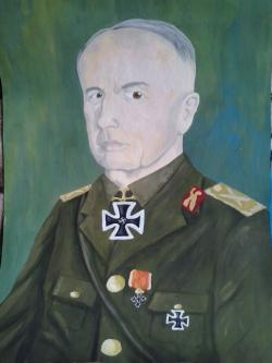 Picturi cu potrete/nuduri MareÅŸalul Ion Antonescu