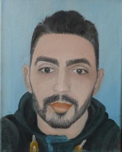 Picturi cu potrete/nuduri portret 015