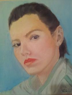 Picturi cu potrete/nuduri portret 017
