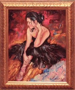 Picturi cu potrete/nuduri BALERINA 002