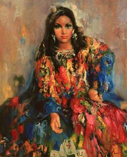 Picturi cu potrete/nuduri CAMELIA MITEA