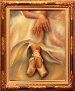 Picturi cu potrete/nuduri LOVE FOR DANCE 3