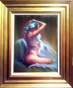 Picturi cu potrete/nuduri NUD 010
