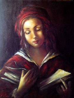 Picturi cu potrete/nuduri ORA DE LECTURA