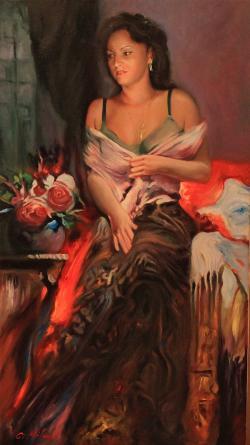 Picturi cu potrete/nuduri PORTRET (comanda)