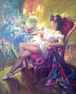 Picturi cu potrete/nuduri RELAXARE 01