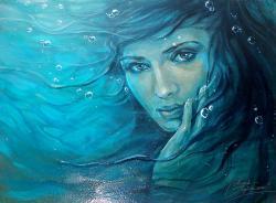 Picturi cu potrete/nuduri Sirena