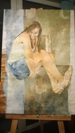 Picturi cu potrete/nuduri GINA 1