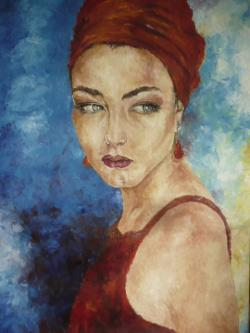 Picturi cu potrete/nuduri RITA