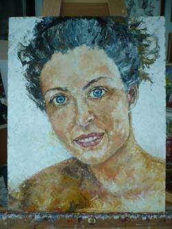 Picturi cu potrete/nuduri ROXI