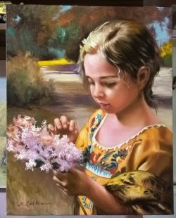Picturi cu potrete/nuduri Liliana
