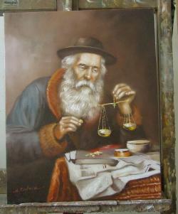 Picturi cu potrete/nuduri 50 gr.aur