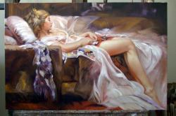 Picturi cu potrete/nuduri Primul vis