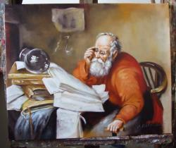 Picturi cu potrete/nuduri Alchimistul