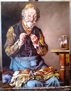 Picturi cu potrete/nuduri Croitoru