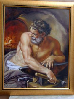 Picturi cu potrete/nuduri Fierarul