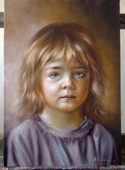 Picturi cu potrete/nuduri Lacrima dorului