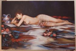 Picturi cu potrete/nuduri magia cartii