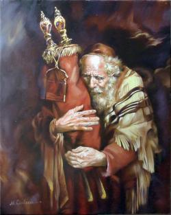 Picturi cu potrete/nuduri Torah