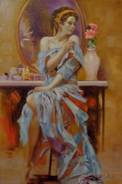 Picturi cu potrete/nuduri Violet 2