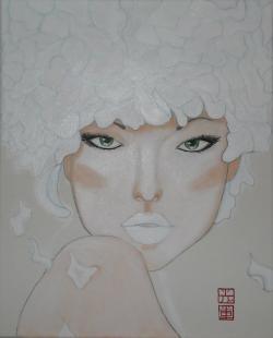 Picturi cu potrete/nuduri Mimi